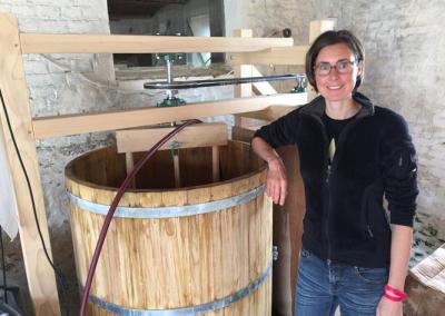 L'installation d'une vigneronne bio en Belgique !